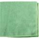 Les lavettes microfibre tricotée verte pour l'entretien de la maison
