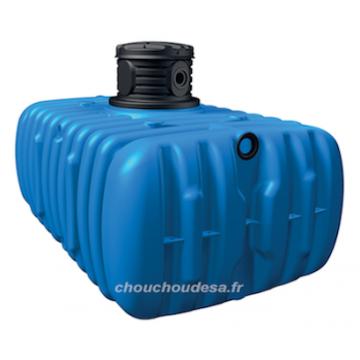 Cuve 3000 L à enterrer Flat Garantia avec pompe immergée et filtration