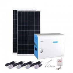 Générateur solaire d'électricité avec panneau photovoltaïque Tiny 80