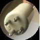 Culot de la lampe TUV 36T5 48W 4PSE pour traitement de l'eau par UV-C