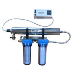 Station BIO UV Home 2 avec filtration pour traitement d'eau par UV C