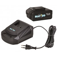 Chargeur + batterie pour pompe vide cave Ribiland