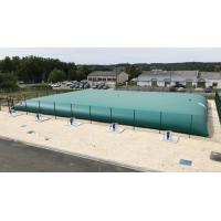 Citerne souple 1500 m³ défense incendie Labaronne Citaf
