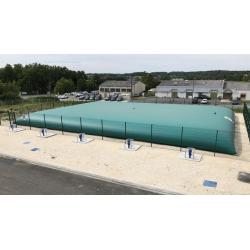 Citerne souple réserve incendie 2000 m³ certifiée NF QB-CSTB et TÜV