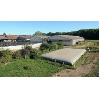 Citerne souple 50 m³ pour effluents agricoles, vinicoles ou industriels