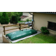 Citerne souple 5000 L pour récupération d'eau pluie Labaronne Citaf en extérieur
