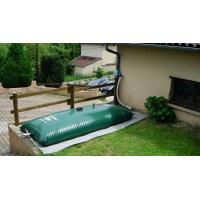 Citerne souple 10 m3 Labaronne Citaf pour la récupération d'eau de pluie
