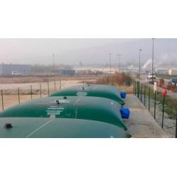 Citerne souple 30 m³ réserve défense incendie certifiée NF et QB-CSTB