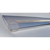 Tube quartz diamètre 24 mm L. 800 mm