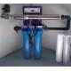 Station Skid Ecostream Alfaa avec ses filtres 20 pouces BIG pour traitement de l'eau par UV