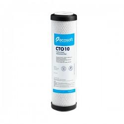 Filtre 10 pouces charbon actif Ecosoft pour filtration d'eau