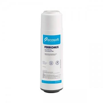Filtre Ferromix 10 pouces Ecosoft pour traiter le FER dans l'eau