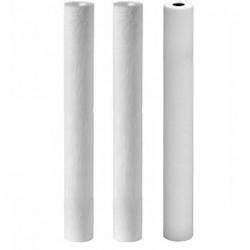 Kit 3 filtres 20 pouces en 20 microns 10 et 5 microns plus charbon