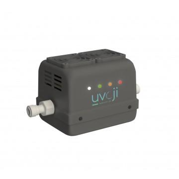 Réacteur LED UV C Oji Safe débit 4 L/min uvoji by T.zic