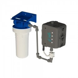 Réacteur LED UV C Oji Pure débit 8 L/min uvoji by T.zic
