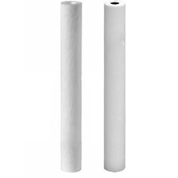 Kit 2 filtres 20 pouces MeltBlown 20 et 5 microns avec charbon actif