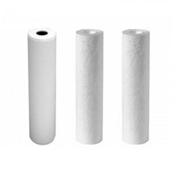 "Kit 3 filtres 9"" 3/4 filtrations 10 microns 5 + charbon et 1 micron"