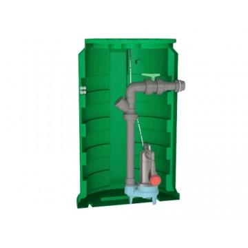 Station de relevage Calidom 1600 Calpeda pour eau chargée