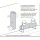 Installation réversible du réacteur UV AQUAFiDES