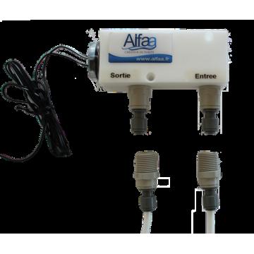 Station LED UV C en 12 ou 220V pour traiter l'eau par Ultraviolet
