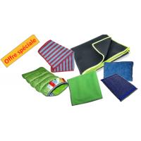 Kit microfibre pour l'entretien et le ménage