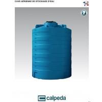 Cuve CVC aérienne de stockage d'eau Calpeda