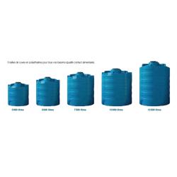 Cuves CVC Calpeda aériennes cylindriques de stockage d'eau