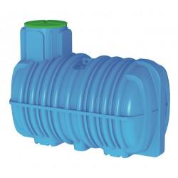 Cuve CEFS 3000 L à enterrer Calpeda pour récupération d'eau de pluie