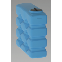 Cuve CP aérienne et parallélépipédique de stockage d'eau de pluie Calpeda