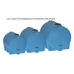 Cuves hors-sol CH Calpeda pour récupération d'eau de pluie