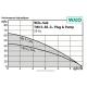 Performance de la pompe pour forage et puits Wilo TWI 5 SE 304 P&P mono