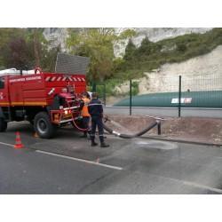 Citerne souple 360 m³ défense incendie certifiée N F QB-CSTB et TÜV