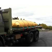 Citerne souple 5000 L pour le transport de liquide.