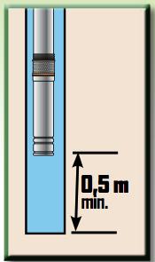 Plus adapté Pompe inox pour forage et puits diamètre 90 mm 750 W Ribiland MB-64